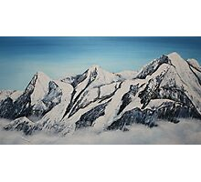 Eiger Jungfrau and Monk Photographic Print