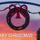 Merry Christmas Street Decoration by Elysian Photography ~ Art from the Heart