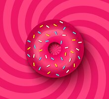 Pink donut  by SIR13