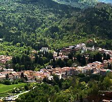 Ai margini del Parco Nazionale d'Abruzzo Lazio e Molise, Alfedena da Scontrone by castellanodoc