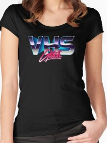 VHS Glitch - Classic Edition Women's Fitted Scoop T-Shirt