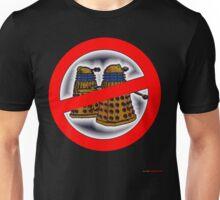 Doctor Who No Parking Sign Design Unisex T-Shirt