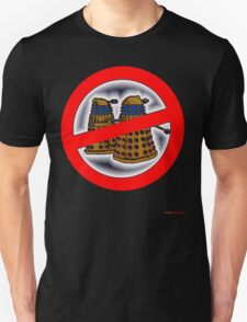 Doctor Who No Parking Sign Design T-Shirt