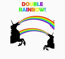 Double Rainbow Unicorn Vomit Unisex T-Shirt