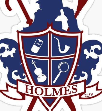 Holmes Family Crest Sticker