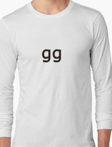 GG Long Sleeve T-Shirt