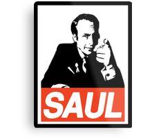 Obey Saul Metal Print