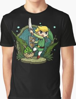 Zelda Wind Waker Forbidden Woods Temple Graphic T-Shirt