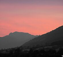 Monte Meta al tramonto by castellanodoc