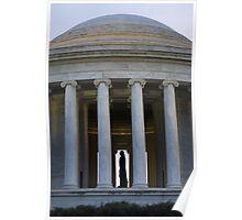 Jefferson Memorial - Profile Poster