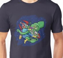 Sincerity vs. the Space Squid (textless version) Unisex T-Shirt