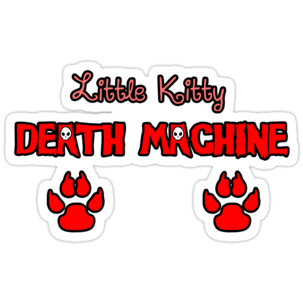 Little Kitty Death Machine Logo by PureOfArt
