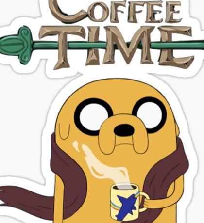 It's Coffee Time! Sticker