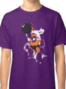Bomb Man Explosive Splatter Design Classic T-Shirt