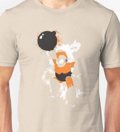 Bomb Man Explosive Splatter Design T-Shirt