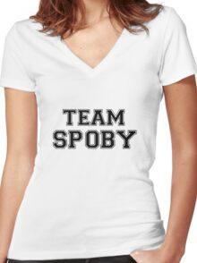 Pretty Little Liars Team Spoby Women's Fitted V-Neck T-Shirt