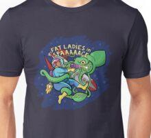 Sincerity vs. the Space Squid (text version) Unisex T-Shirt