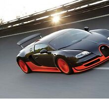 Bugatti Veyron SS by loboy1