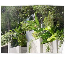 What Is On The Other Side Of This Wall On Cap Ferrat? Poster