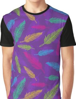 feathers pattern  Graphic T-Shirt