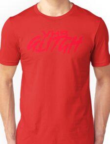 VHS Glitch - Red Edition Unisex T-Shirt