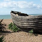 Row Boat by the Seaside  by RachelSheree