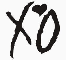 The Weeknd - XO Logo (Black) by xogang