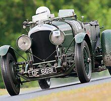 Vintage car racing. by Kit347
