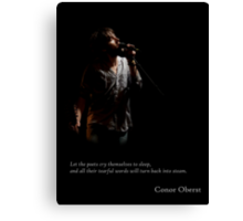 Conor Oberst - poets Canvas Print