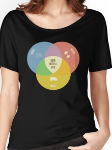 Men With A Ven(n) Women's Relaxed Fit T-Shirt