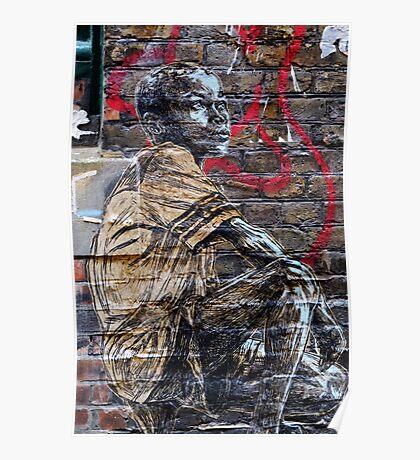 Street Art in London ( Swoon series) Poster