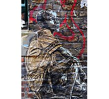 Street Art in London ( Swoon series) Photographic Print