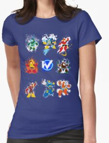 Robot Masters of Mega Man 2 Womens Fitted T-Shirt
