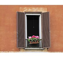 Roman Window #1, March 2012 Photographic Print