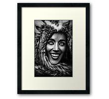 Huntress for eternity Framed Print