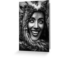 Huntress for eternity Greeting Card