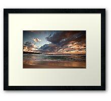 Bronte Rays Framed Print