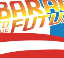 Barack to the Future II Sticker