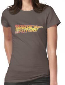 Barack to the Future Womens Fitted T-Shirt