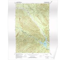 USGS Topo Map Washington State WA Eagle Gorge 240918 1993 24000 Poster