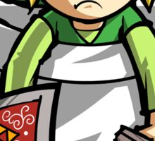 Pocket Link Legend of Zelda T-shirt Sticker