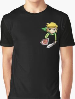 Pocket Link  Graphic T-Shirt