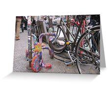 Manhattan Street Art #3, November 2011 Greeting Card