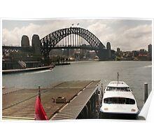 Harbour Transport Poster