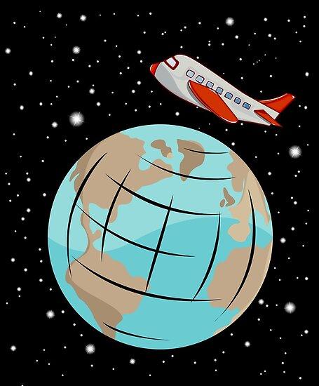 Space trip by Honeyboy Martin