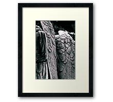 Angel - Mount Auburn Cemetery, Cambridge, MA Framed Print