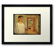 You left me the Cat - thank you for that Framed Print
