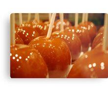 Caramel Apples Metal Print
