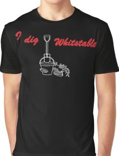 I Dig Whitstable no2 Graphic T-Shirt
