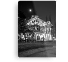 Haunted Mansion - Night Metal Print